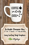 Coffee Cats Chill Candle