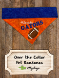 Florida Gators / Over the Collar Dog Bandana