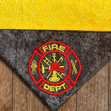 Fire Fighter / Over the Collar Dog Bandana