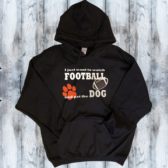 Watch Football & Pet the Dog/Cat Shirt