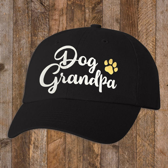 Baseball Cap - Dog Grandpa