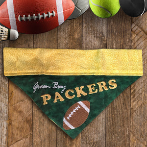 Green Bay Packers  / Over the Collar Dog Bandana