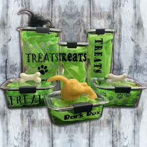 Treat Container - Diving Dog - Mydeye