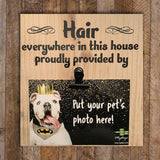 Wood Sign - Hair in this House Provided by Our Pets - Mydeye