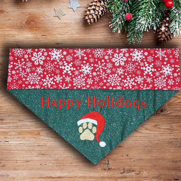 Happy Holidogs / Christmas Dog Bandana