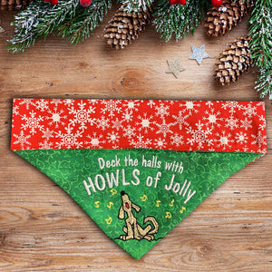 Howls of Jolly / Christmas Dog Bandana