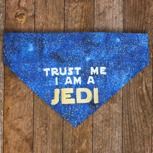 Trust Me I Am A JEDI / Over the Collar Dog Bandana
