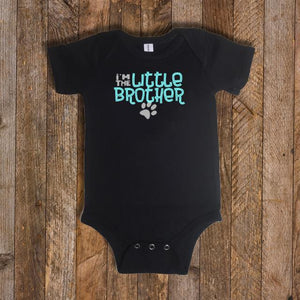 """I'm the Brother"" Baby Onsie"