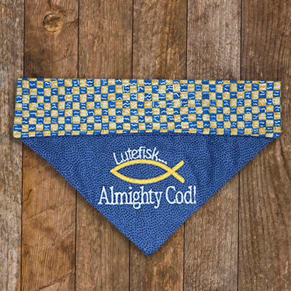 Lutefisk  - Almighty Cod / Over the Collar Dog Bandana