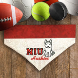 NIU Huskeys / Over the Collar Dog Bandana