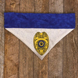 Police / Over the Collar Dog Bandana