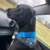 """I'm the Brother"" Dog Bandana"