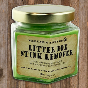 Litter Box Stink Remover Cat Candle