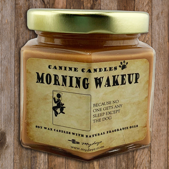 Morning Wake Up Canine Candle