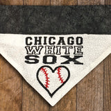 Ultimate Chicago Sports Fan - Southsiders - 4 piece set / Over the Collar Dog Bandanas
