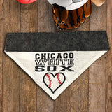 Chicago White Sox / Over the Collar Dog Bandana