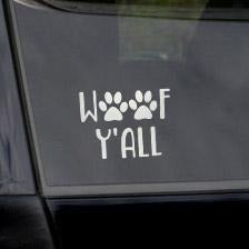 Decal -  Woof Y'all
