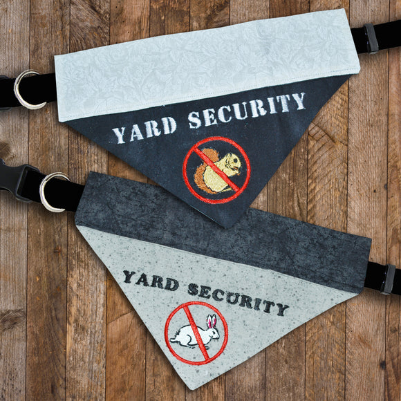 Yard Security / Over the Collar Dog Bandana