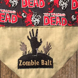 Zombie Bait / Over the Collar Dog Bandana