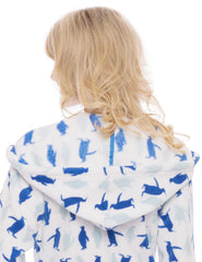 Penguin Mania - White/Blue