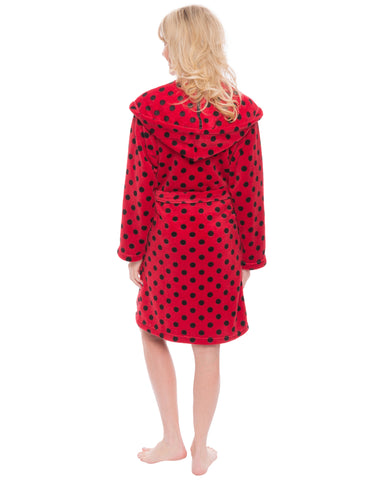 Polka Dots - Red/Black