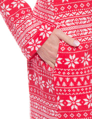 Fair Isle Red/White