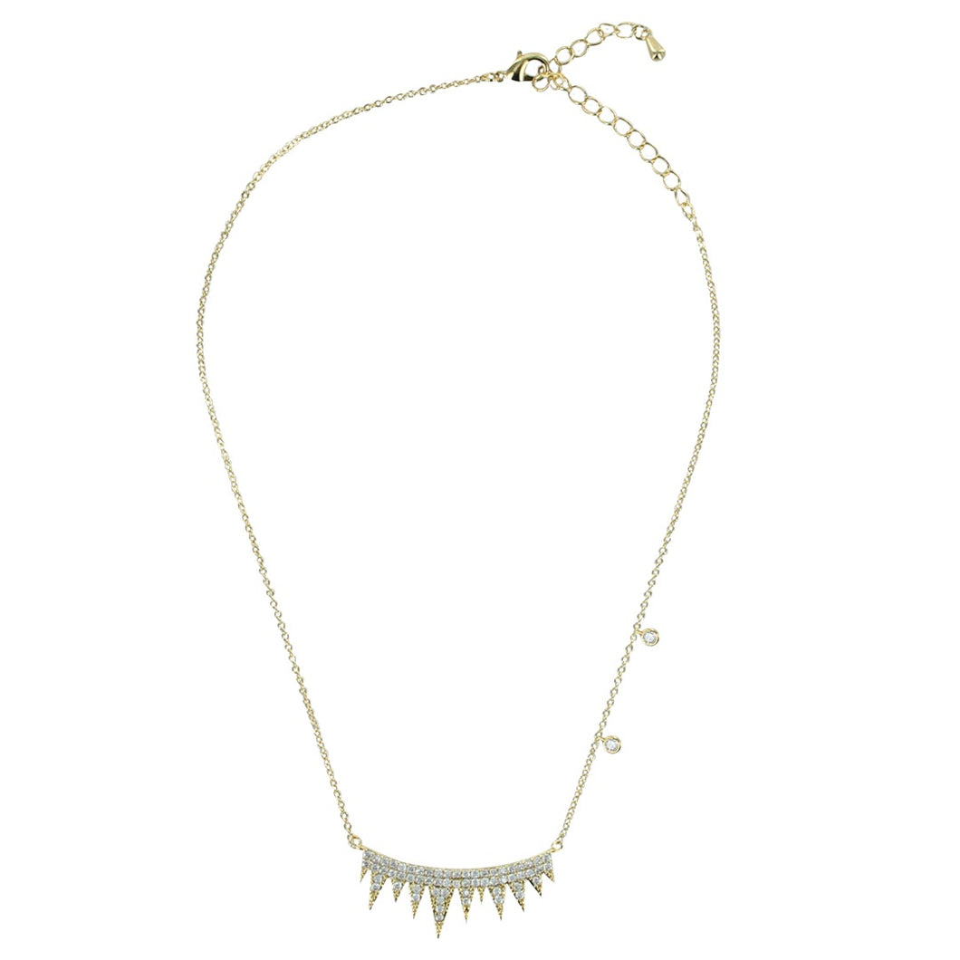 Drip Drip Pave Necklace