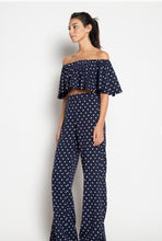 Off The Shoulder Polka Dot This Pant Set