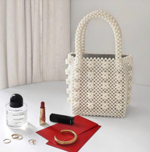 "The ""IT"" Mini Pearl Handbag"