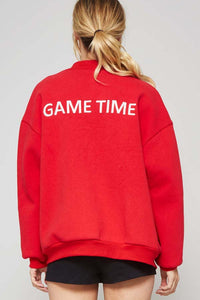 """Game Time"" Bomber Jacket"