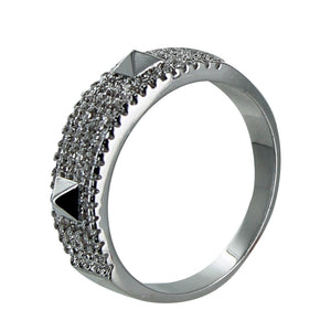 Pave Stud Ring
