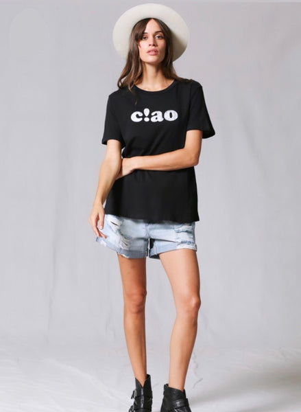 Ciao Cotton Tee