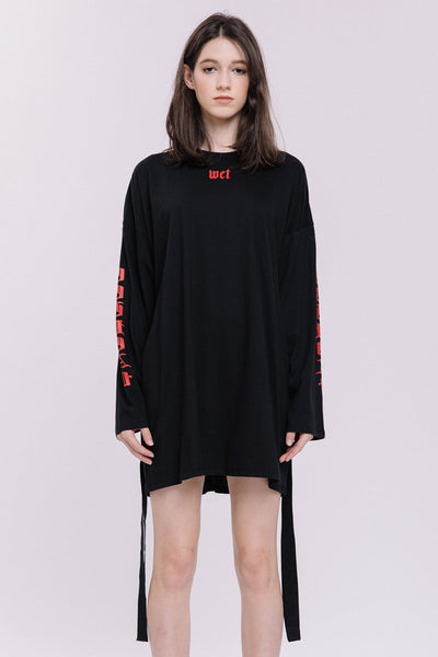 Long Sleeve T Shirt Dress