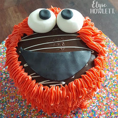 Elmo cake hack with Elyse Howlett
