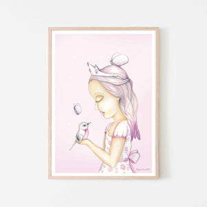 Princess Olivia - Tulle Pink background