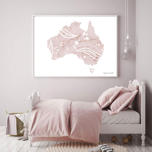 Australia in Speckled Earth
