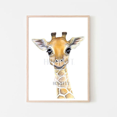 Wyatt the baby giraffe