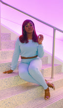 "Load image into Gallery viewer, The ""Tionne"" Pant Set - Light Blue"