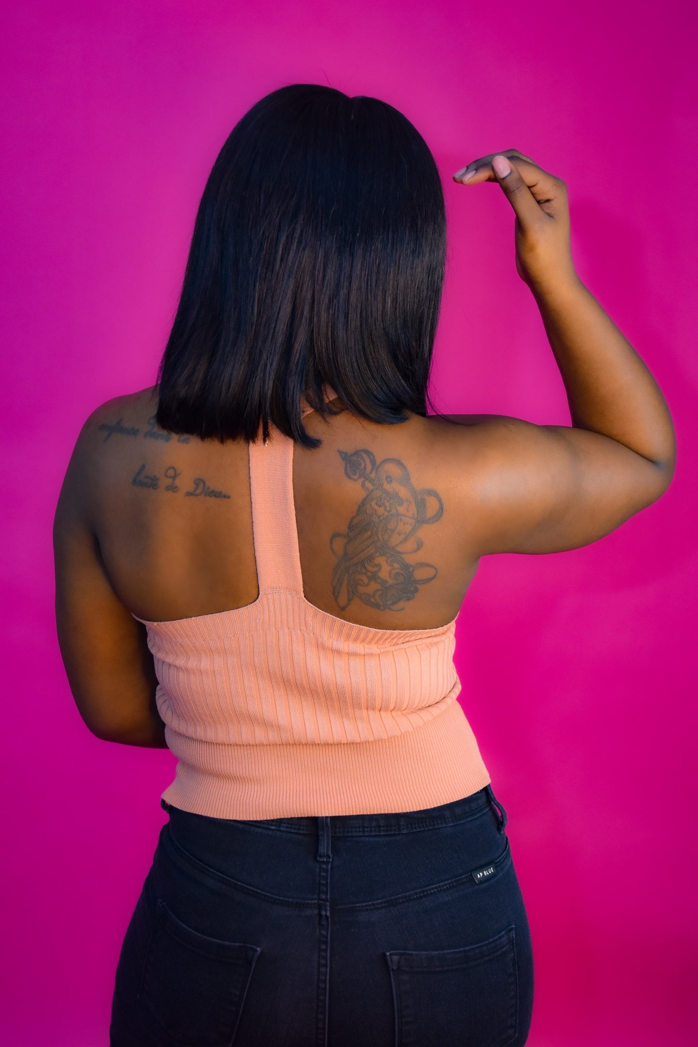 "The ""Nicole"" T-Back Top"