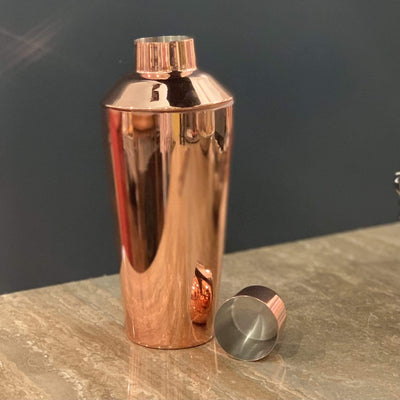 Copper Plated Stainless Steel Shaker - PORCH
