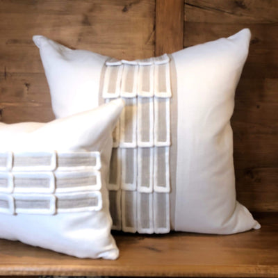 Cressida Belgian Linen Pillow - PORCH