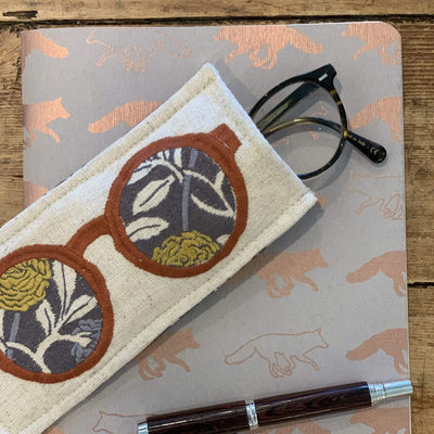 Embroidered Sunglass Case - PORCH