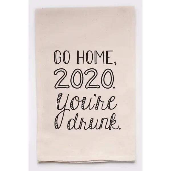 Go Home 2020 Tea Towel - PORCH