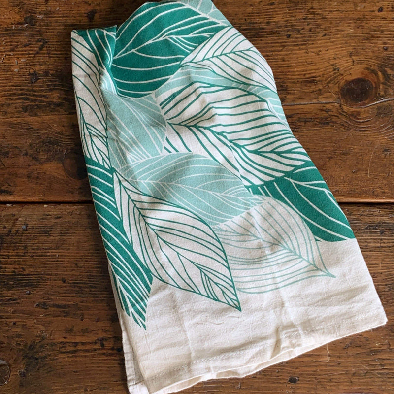 Leaves Tea Towel - PORCH