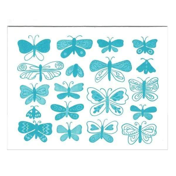 M&E Butterflies Greeting Card - PORCH