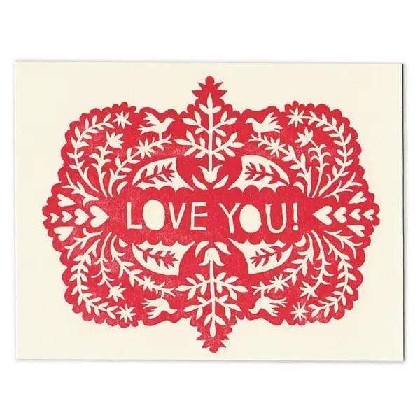 M&E Love You Greeting Card - PORCH