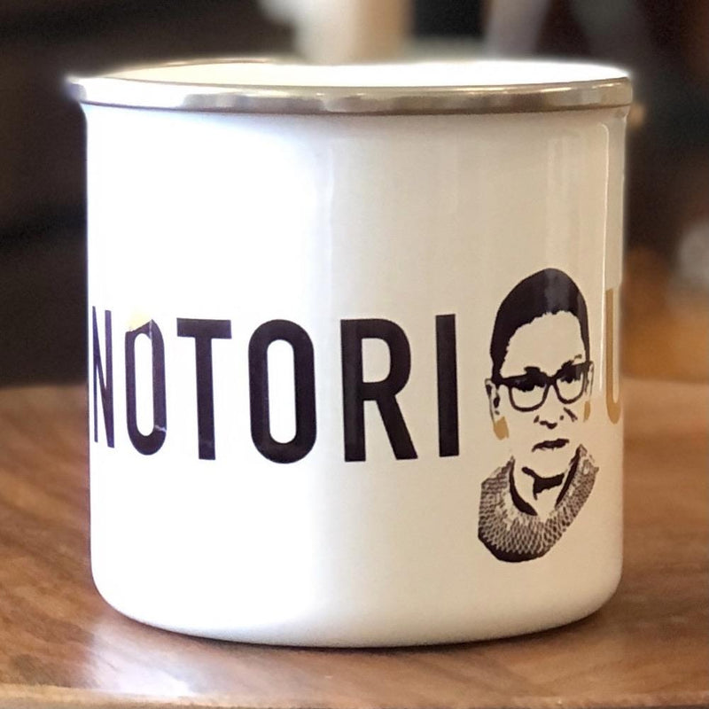 Notorious RBG Camp Mug - PORCH