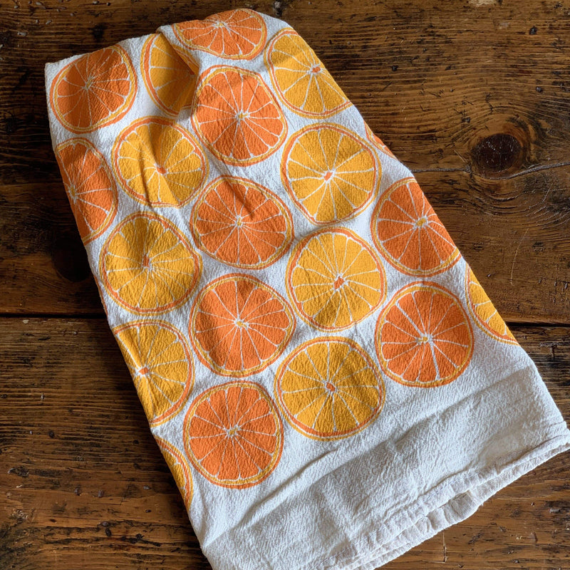 Oranges Tea Towel - PORCH