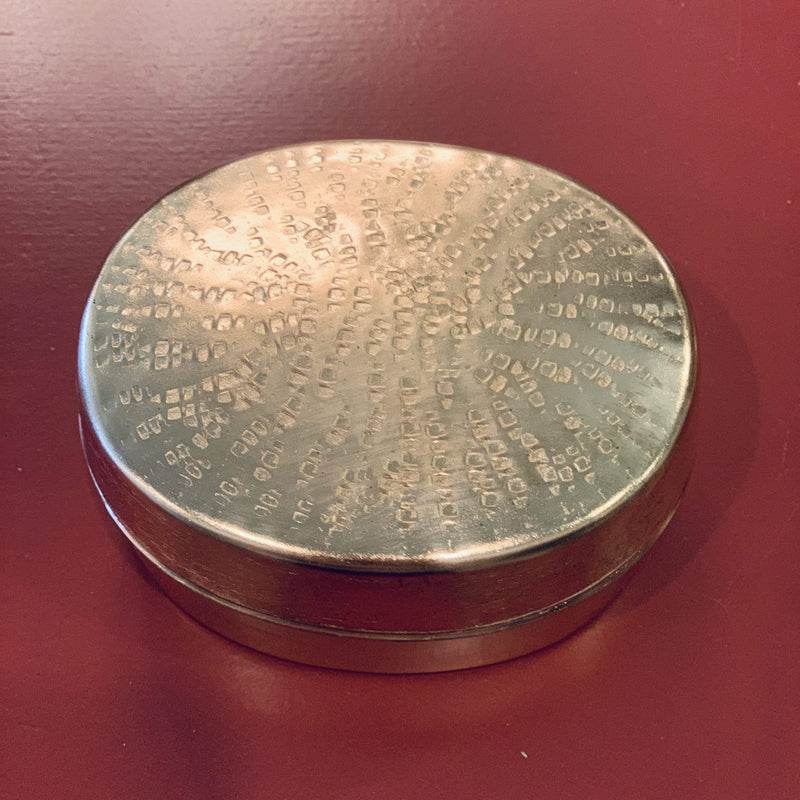 Oval Hammered Trinket Box - PORCH