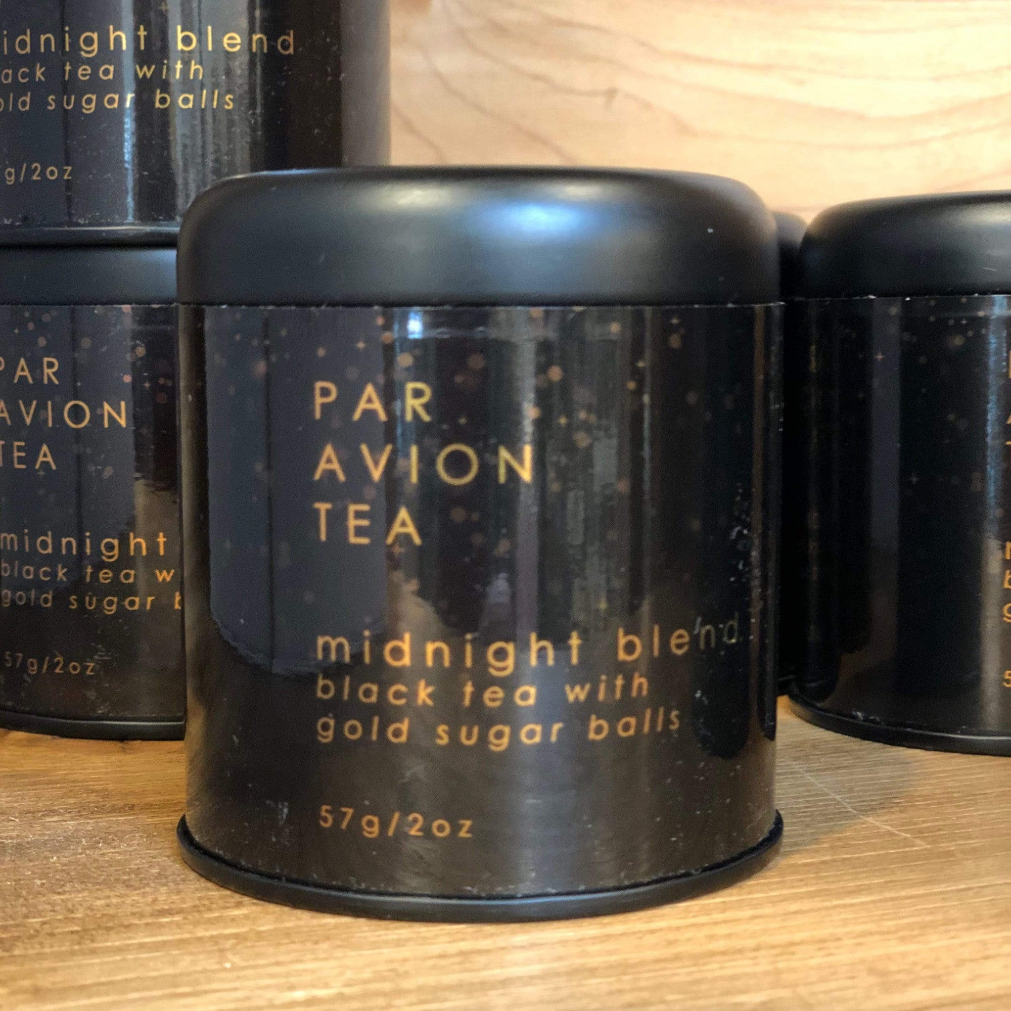 Par Avion Midnight Blend Glitter Tea - PORCH